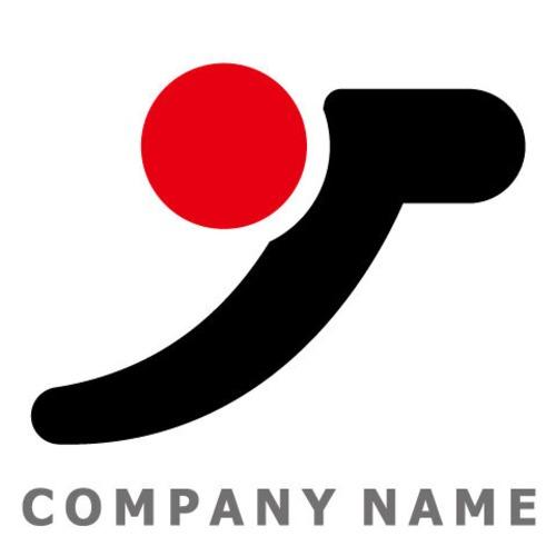 J文字 ロゴデザイン