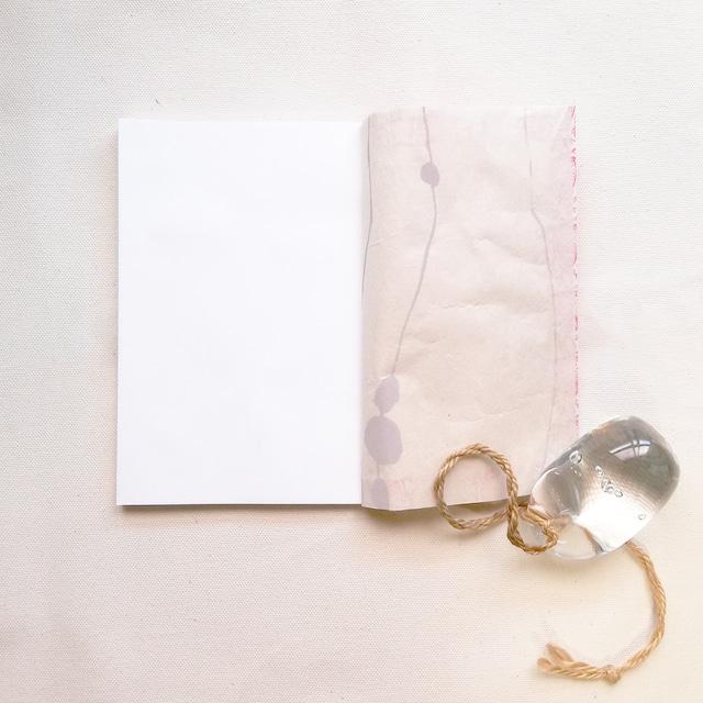 手製本ノート 赤フクロウ WN-001