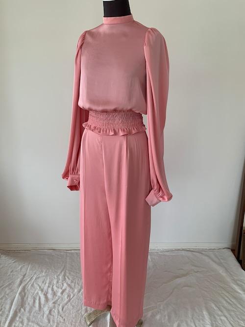 Tucked pants / Pink