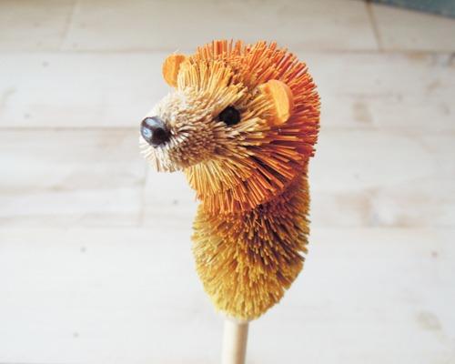 アニマル鉛筆 ライオン