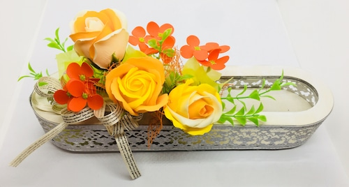 フレグランスフラワー color:orange&yellow