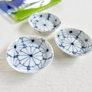 【30507】伊万里 菊模様 小皿 (1個) 明治/ Imari Small Plate / Meiji Era