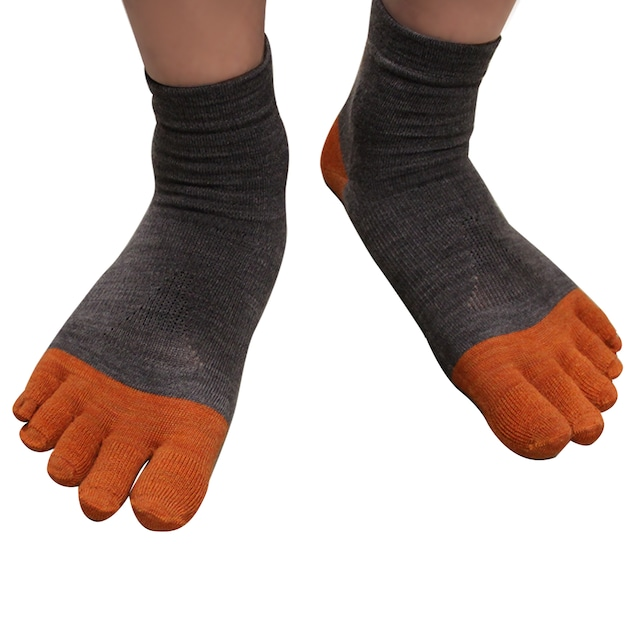 gleg socks  MERINO WOOL   5本指ランニングソックス