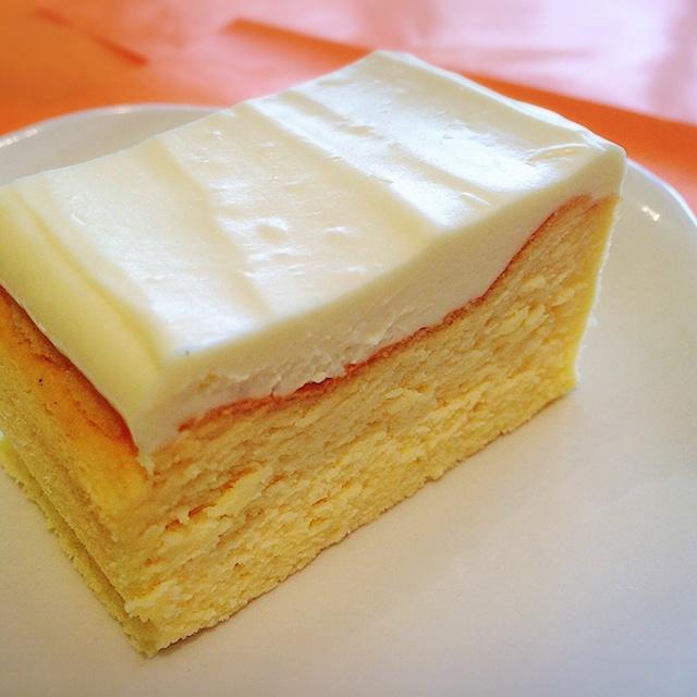 シンプルチーズケーキ box size
