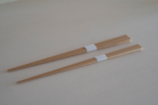 高野竹工 極細箸 22.5cm 白竹