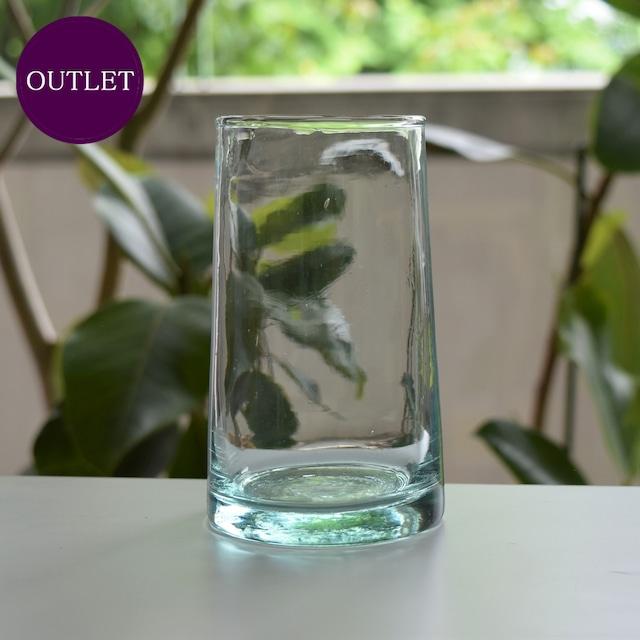 【OUTLET・ランクB】モロッコガラス タンブラー L