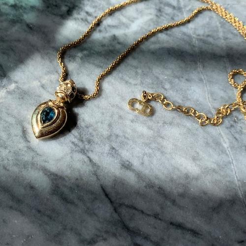 Dior ネックレス ブルーストーン