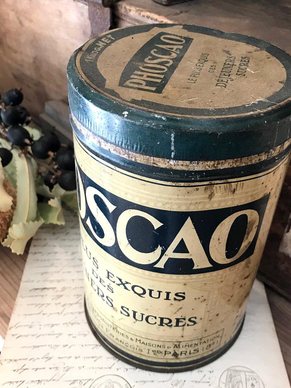 PHOSCAO カカオのTIN缶
