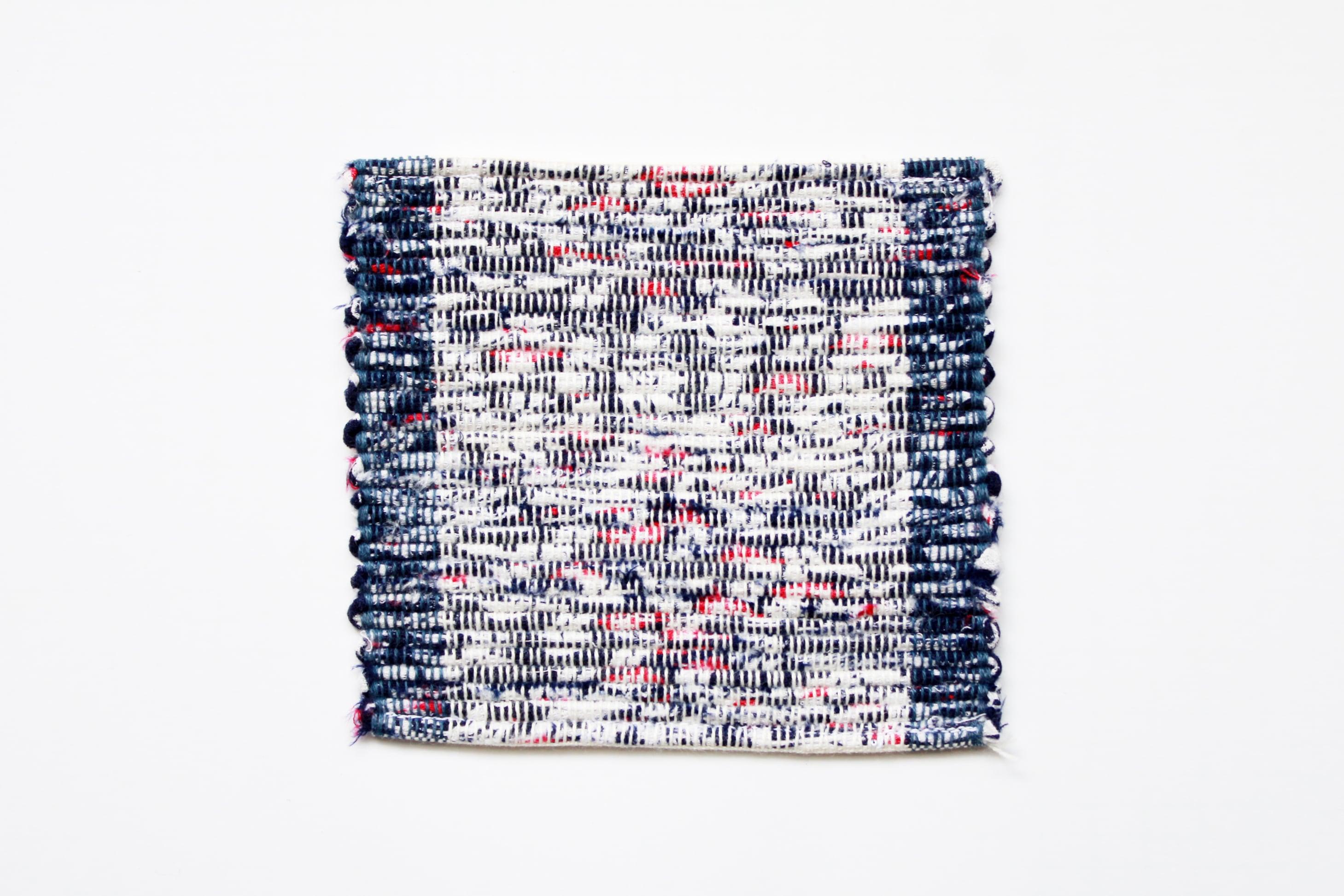佐野地織の敷もの・さき織り