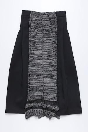 21SS Knit Mix Skirt