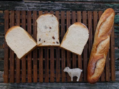 自家製酵母食パン食べ比べパンセット(レーズン食パン入り)