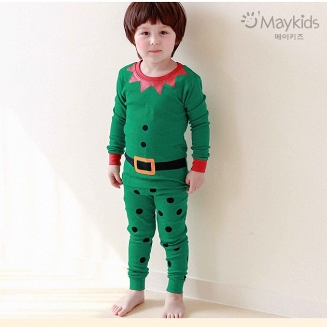 【19AW】GREEN MANのルームウェア / 韓国子供服