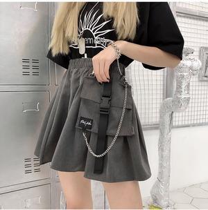 ポシェット付ミニスカート(全2色) / HWG219