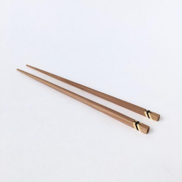 タイのナチュラルウッドの箸 Thai natural Wood Chopsticks