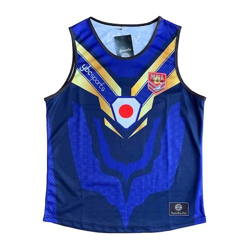 【YBC】JAPAN Supporter Singlet Blue