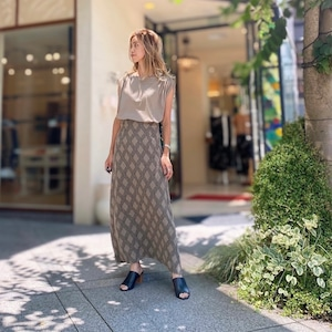 [SALE]GREED(グリード) Argyle Check Jacquard Skirt in Othe[送料無料]