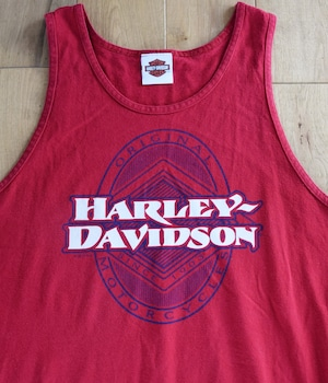 VINTAGE HARLEY-DAVIDSON Charleston, South Carolina TANK TOP