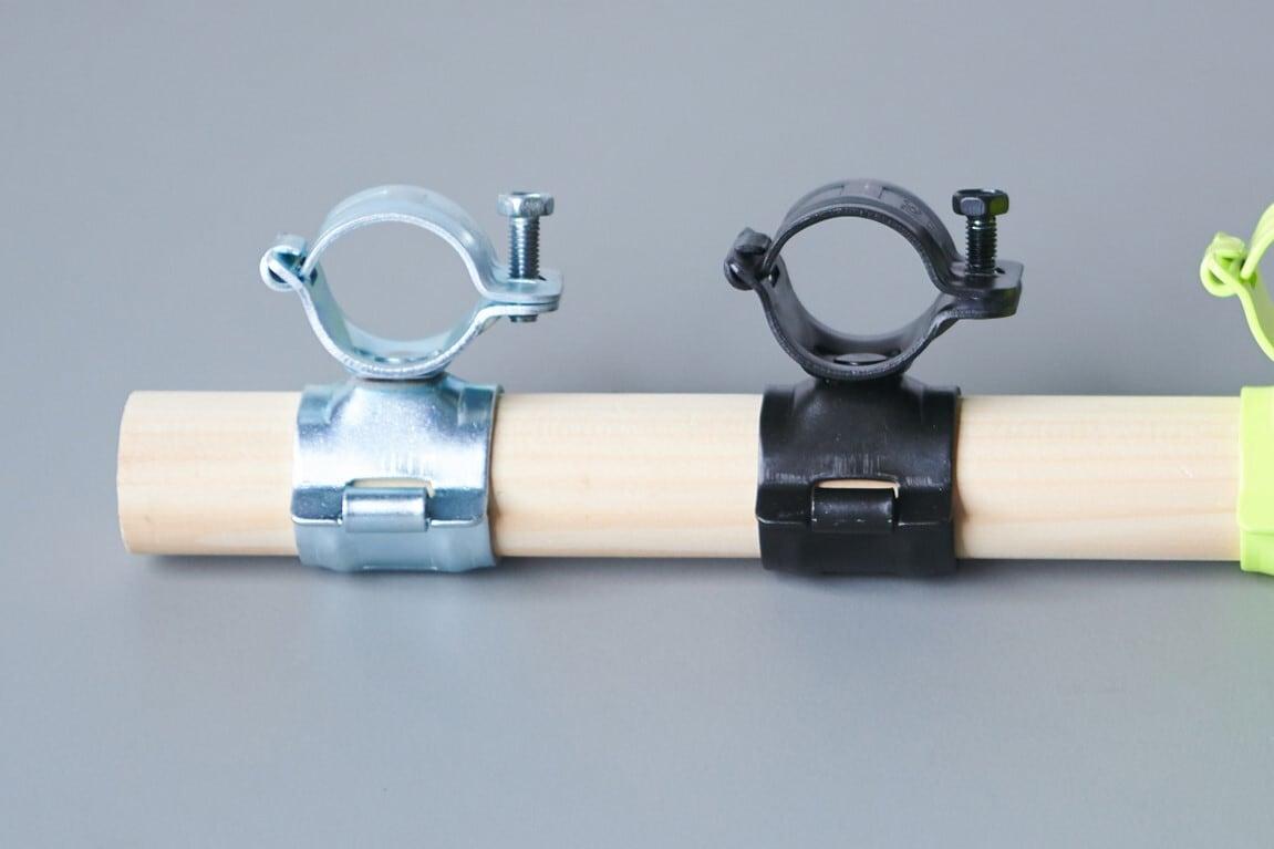 【受注生産品】ミニクランプ小 シルバー/ブラック