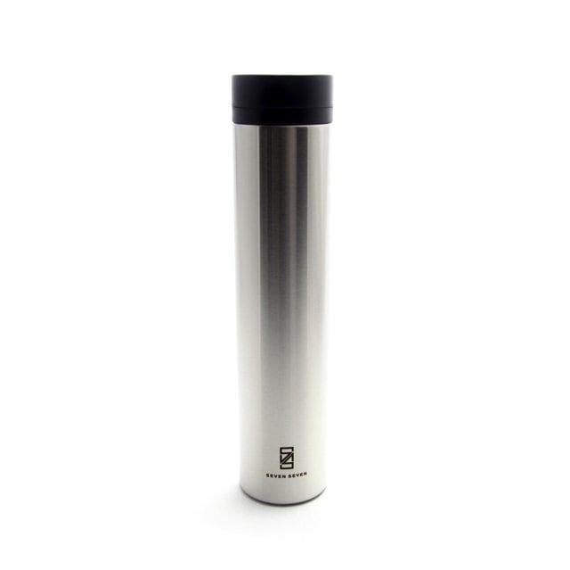 SEVEN SEVEN (セブンセブン) tsutsu tumbler (ツツ タンブラー) ステンレス真空ボトル・タンブラー (ステンレスシルバー) 【360ml】