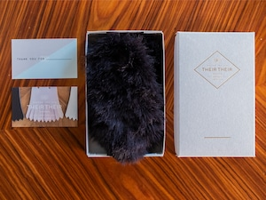 【fur_rex_black】Shoes quilt(シューズファーキルト)