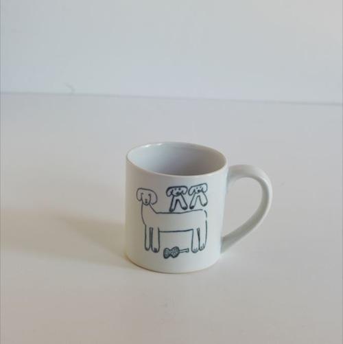 【トラネコボンボン 】犬のマグカップ(小)