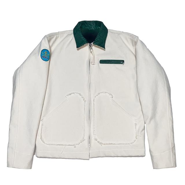 Petroit Work Jacket / White - メイン画像