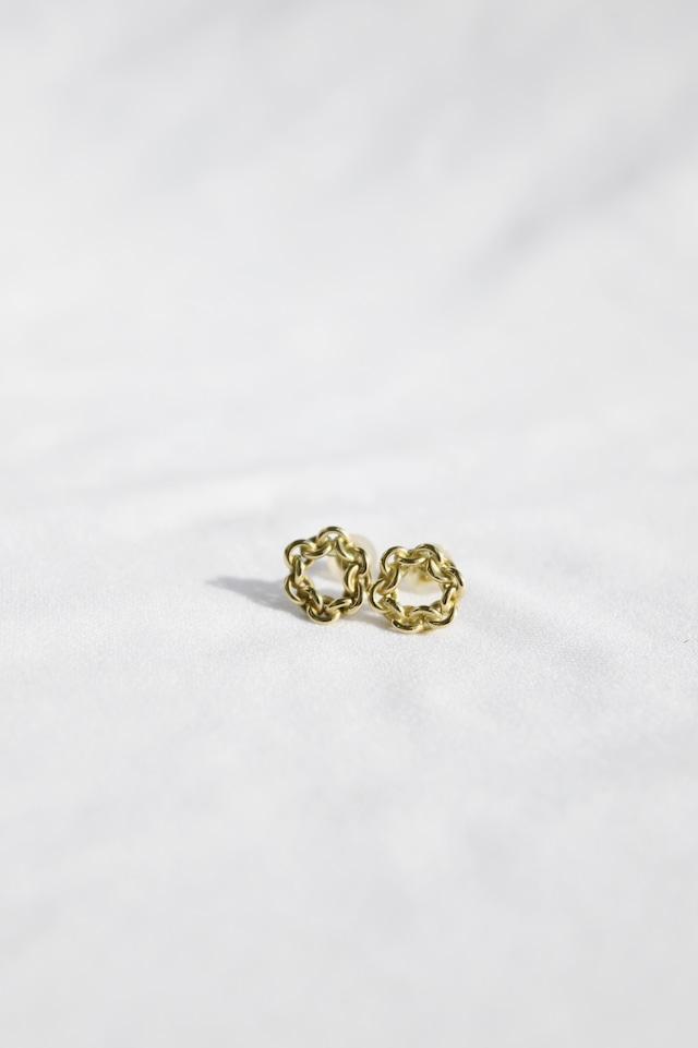 K10 Lian Circle Studs Earrings 10金リアンサークルスタッズピアス