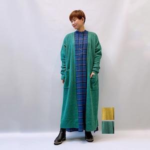 Bluene(ブルーネ) Wool Mix Rib Long Cardigan 2021秋冬新作 [送料無料]