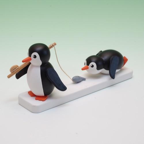 ペンギン 魚つり