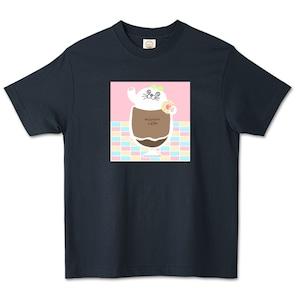 アザラシコーヒー / オーガニックコットンTシャツ (TRUSS)