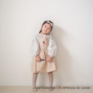 【サンリコラボ】マロンクリーム×tsumikipocheのカフェエプロン(子供)