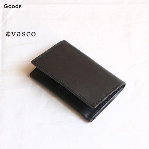 vasco  オイルドレザーカードケース LEATHER CARD CASE VSC-731 (ブラック)
