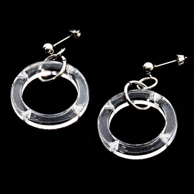 HALFLOGO CREAR Pierce / Earrings