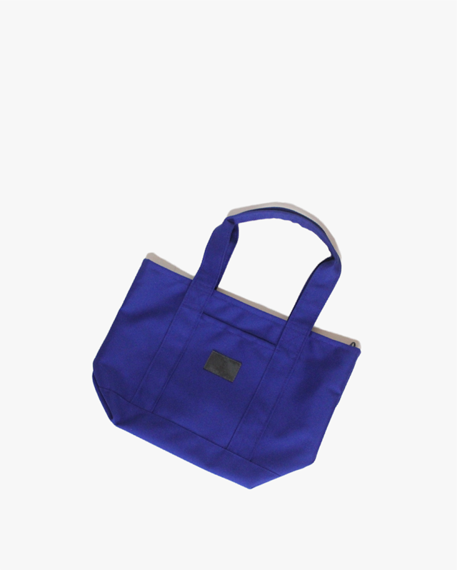 TIMERES. TOTE BAG  SMALL  BLUE