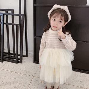 【KIDS】ベレー帽付きチュールワンピース