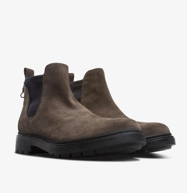 CAMPER TOGETHER × POP  TRADING COMPANY ANKLE BOOTS BROWN