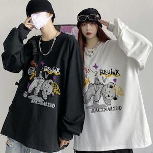 【トップス】Jストリートファッションルーズカップル合わせやすい長袖パーカー53212312