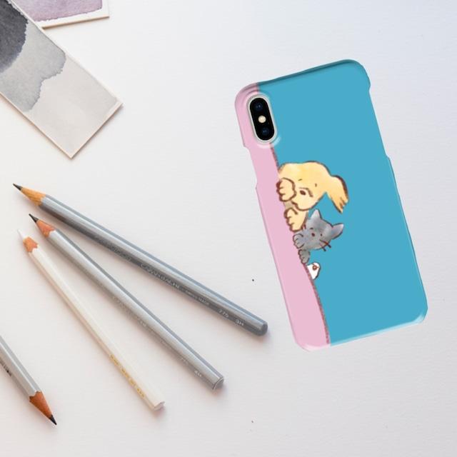 じーっiPhoneケース(表側面印刷)