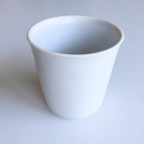 アウトレット品/7.5cmさらさら素朴な縦型湯呑【美濃焼】