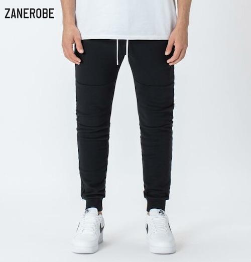 ゼインローブ ジョガーパンツ スウェットパンツ メンズ 日本企画モデル ZANEROBE SURESHOT FLEECE JOGGER BLACK