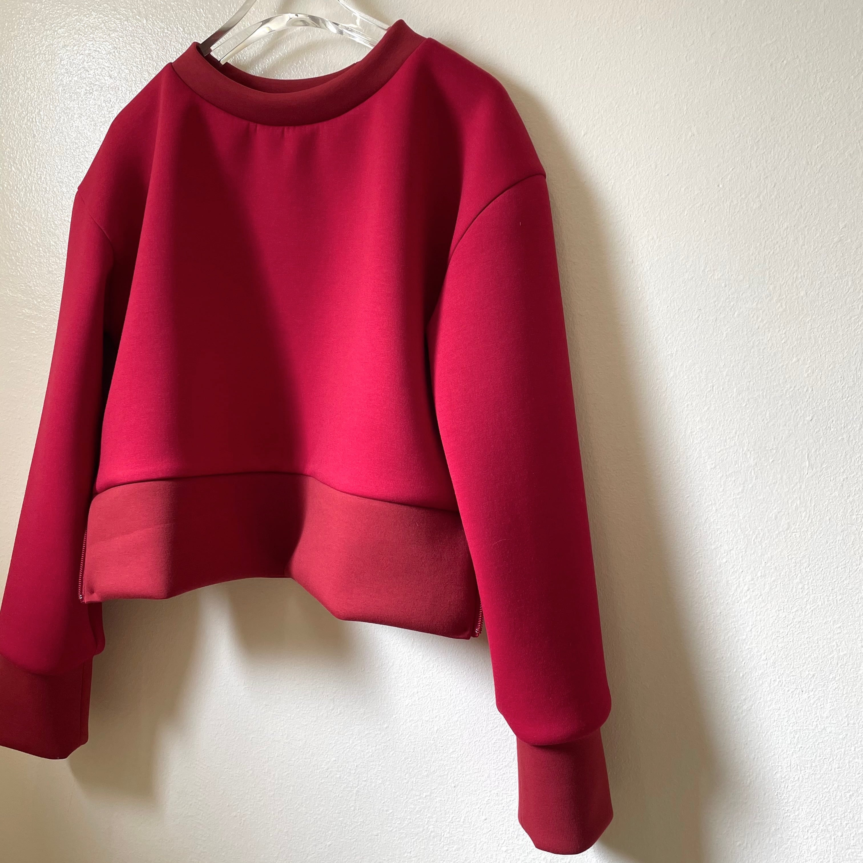 【hippiness】sidezip long sleeve(red)/【ヒッピネス】サイドジップロングスリーブ(レッド)