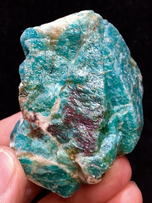 10) ロシアン・アマゾナイト原石