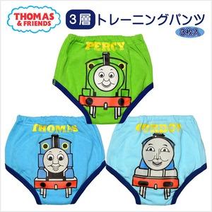 きかんしゃトーマス(THOMAS) 3層トレーニングパンツ3枚組 青・緑・水 (145TM8320-SB)