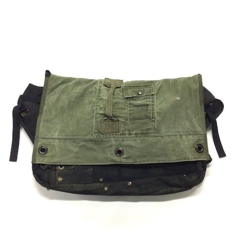 メッセンジャーバッグ Vintage Messenger Bag blue  【messenger10】