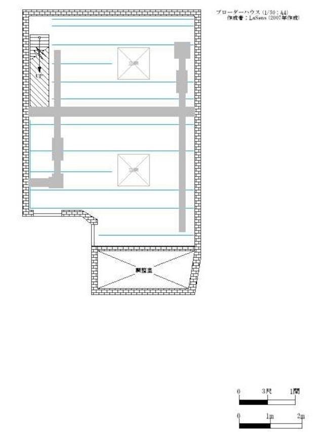 劇場図面 ブローダーハウス