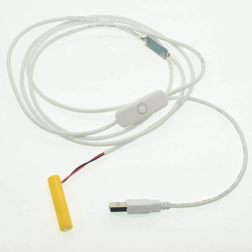 単4電池形2本用USBケーブルスイッチ付き 2m [AAABAT-USB030VSW]
