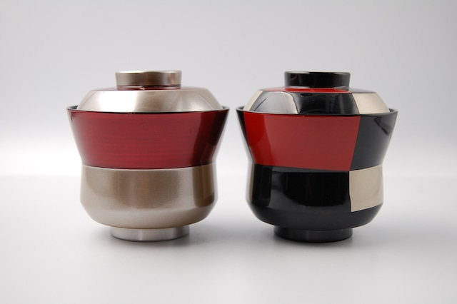 銀帯ワイン杵型椀(小)