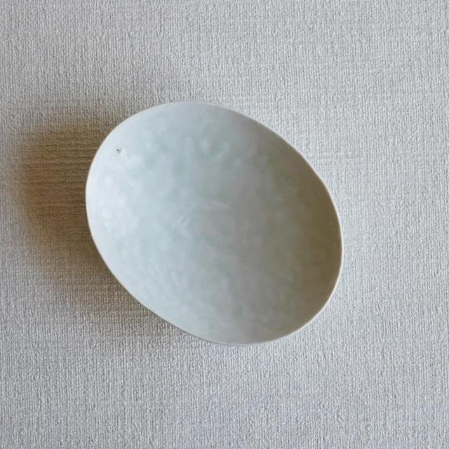 白磁楕円皿 -Outlet-