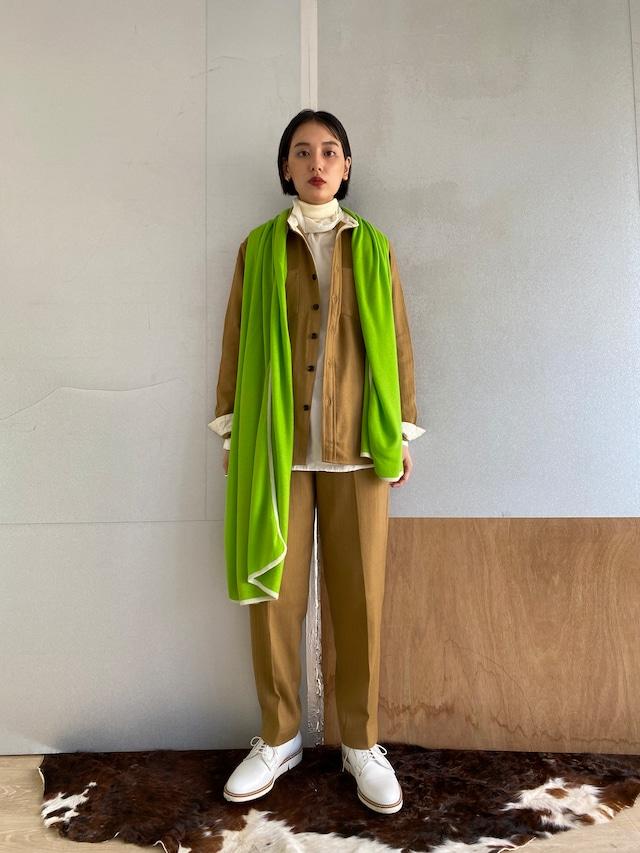 "Unisex long sleeve shirt ""Camel"" khadi wool"