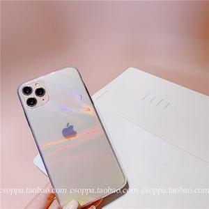 オーロラクリアiPhoneケース S3896